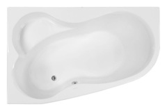 Ванна акриловая VAGNERPLAST (Вагнерпласт) Melite L 160 см, угловая асимметричная левая