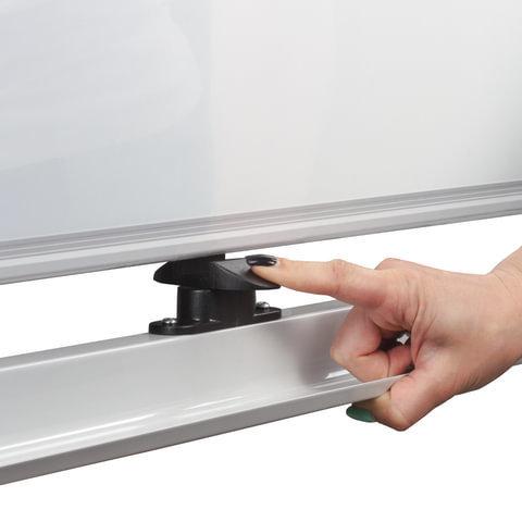 Доска магнитно-маркерная BRAUBERG PREMIUM, 2-сторонняя, на стенде