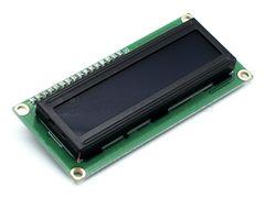 Дисплей LCD1602, 2-строчный, синий