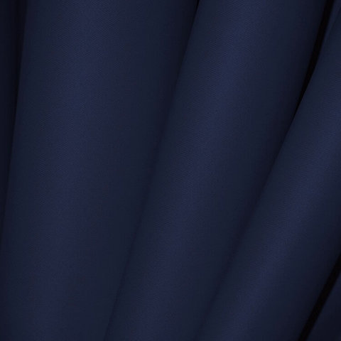 Блэкаут негорючий темно-синий премиум, термотрансфер. Ш-150 см.