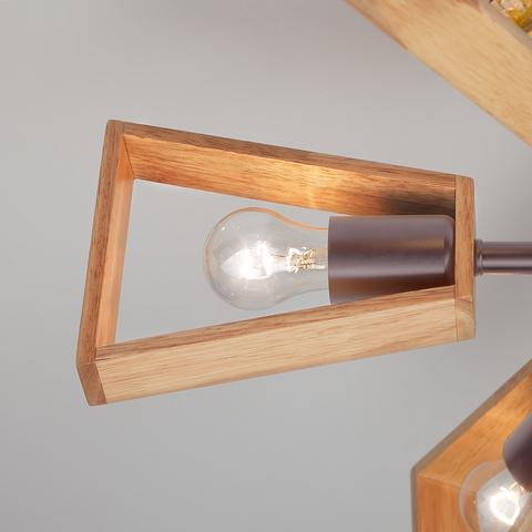 Потолочная люстра в стиле лофт 70056/6 кофе