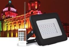 Светодиодный прожектор Feron LL-611 IP65 20W RGB