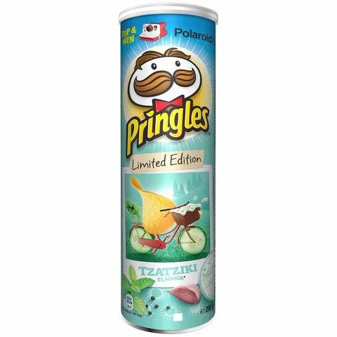 Чипсы Pringles Tzatziki Big Size Принглс Дзадзики 200 гр