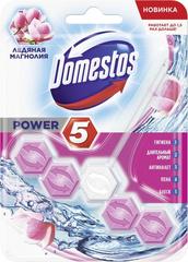 """Блок для очищения унитаза """"Domestos"""" ледяная магнолия 55г"""