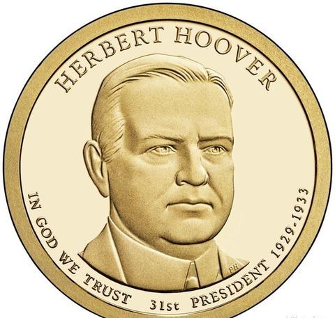 1 доллар 31-й Президент США Герберт Гувер 2014 год