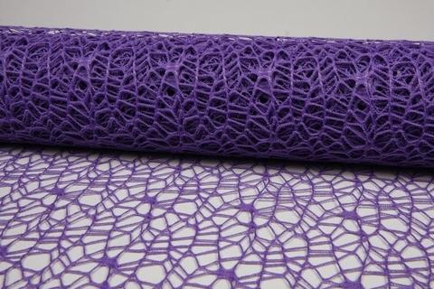 Сетка Ажурная (размер:50 см х 5 ярд) Цвет:фиолетовый