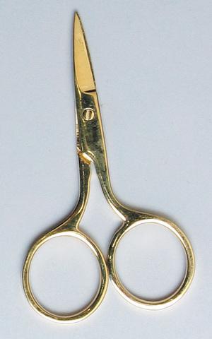 Ножницы позолоченные addi, 7 см. арт.608-7.