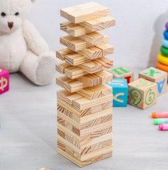 Настольная игра «Падающая башня. Классика», 54 бруска, фото 2