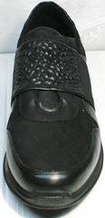 Кроссы сникерсы мужские Luciano Bellini 1087 All Black