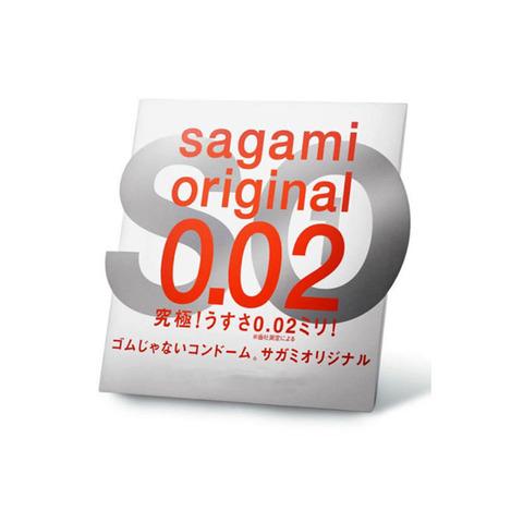 Sagami Original 0,02 №1 Презервативы  полиуретановые