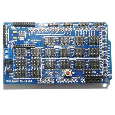Плата расширения Arduino MEGA Sensor Shield V1.1