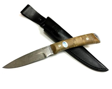 Нож Снегирь, АиР, карельская береза, ZDI 1016