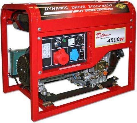 Генератор дизельный DDE DDG6000-3E (1+3ф 5,5/6,0 кВт бак 11,5 л 99 кг дв-ль 10 л.с. элс (DDG6000-3E)