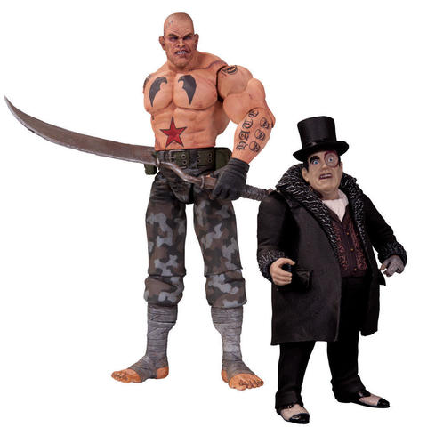 Batman Arkham City Two Pack - Sickle & Penguin