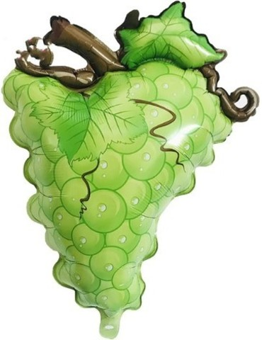 Фольгированный шар Виноград