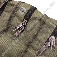 Мягкий чехол для удилищ Kaida 150 см на 3 секции с дополнительным карманом