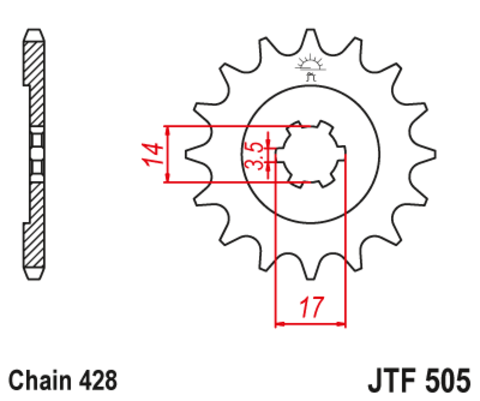 JTF505