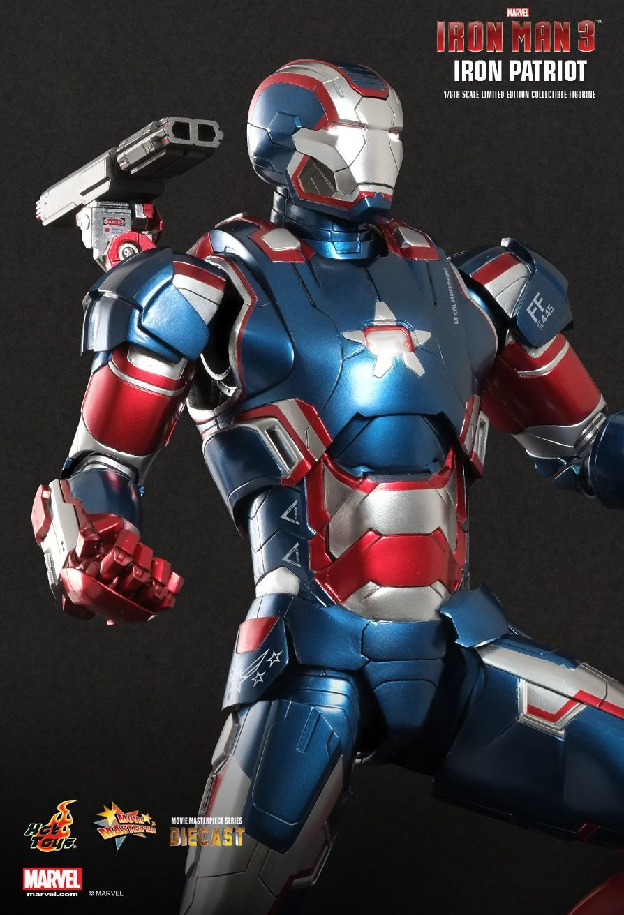 Iron Man 3 - Iron Patriot Limited Edition Series Diecast