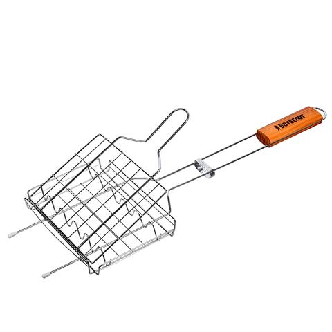 Решетка-гриль для сосисок и колбасок 55(+5)x21x16x2,5 cм