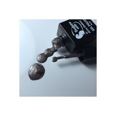 Bagheera Nails BN-69 гель-лак с блестками темное золото 10 мл