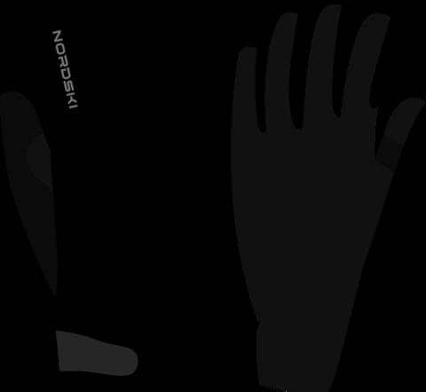 Перчатки Nordski Jr.Racing Black WS детские