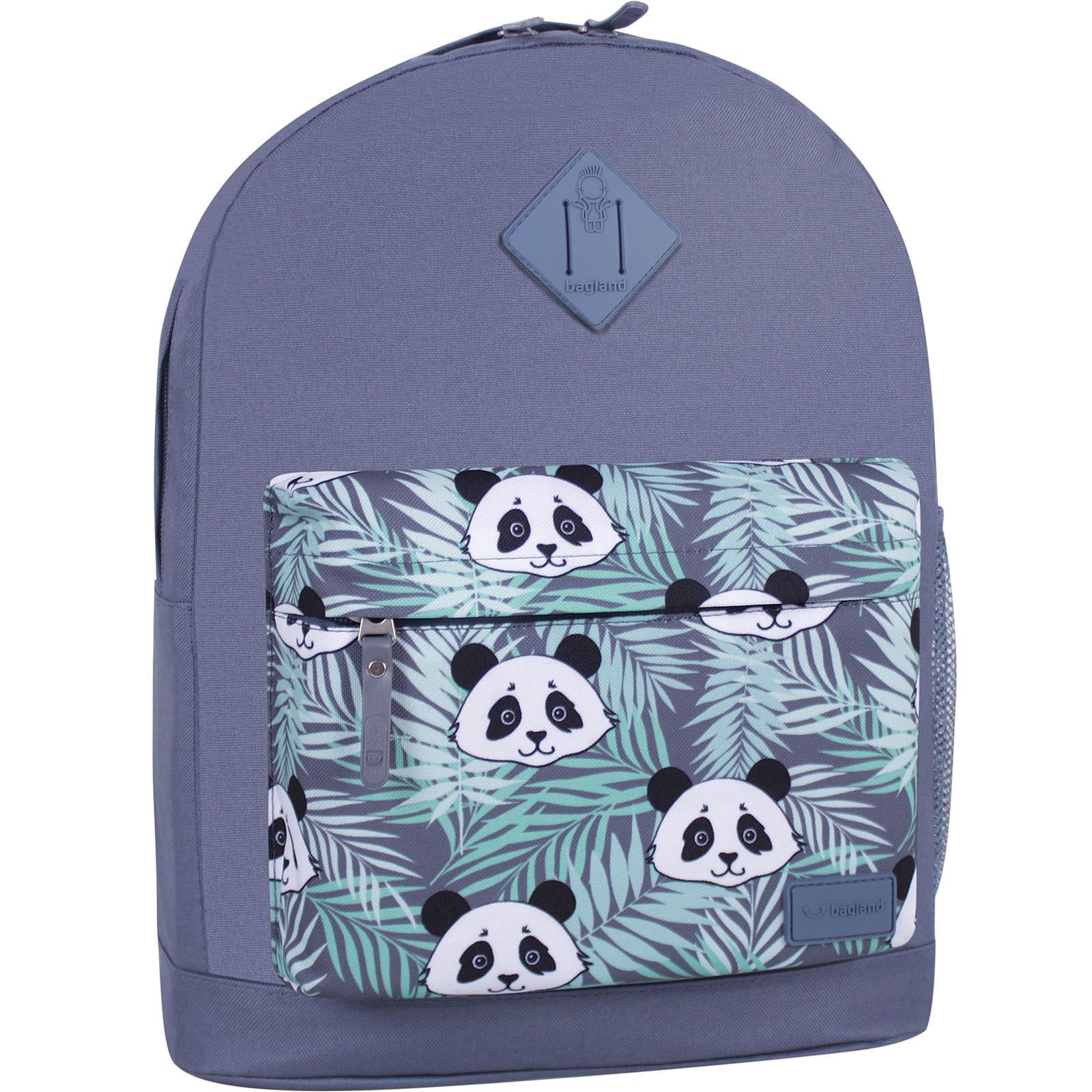 Молодежные рюкзаки Рюкзак Bagland Молодежный W/R 17 л. Серый 764 (00533662) IMG_6481_суб.764_-1600.jpg