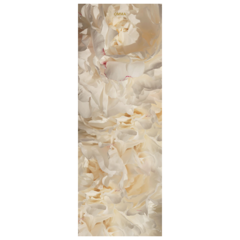 Коврик для йоги White Peony 173*61*0,1-0,3 см из микрофибры и каучука