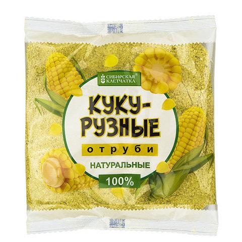 Отруби Кукурузные натуральные, 180 гр (Сибирская клетчатка)