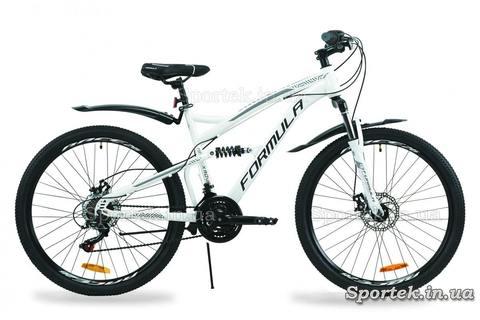 Белый горный универсальный велосипед Formula Х-Rover