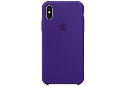 Чехол силиконовый для iPhone XS Max (Ультрафиолет)