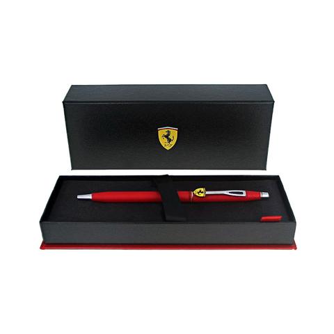 Cross Classic Century - Ferrari Matte Rosso Corsa Red Lacquer/Chrome, шариковая ручка123