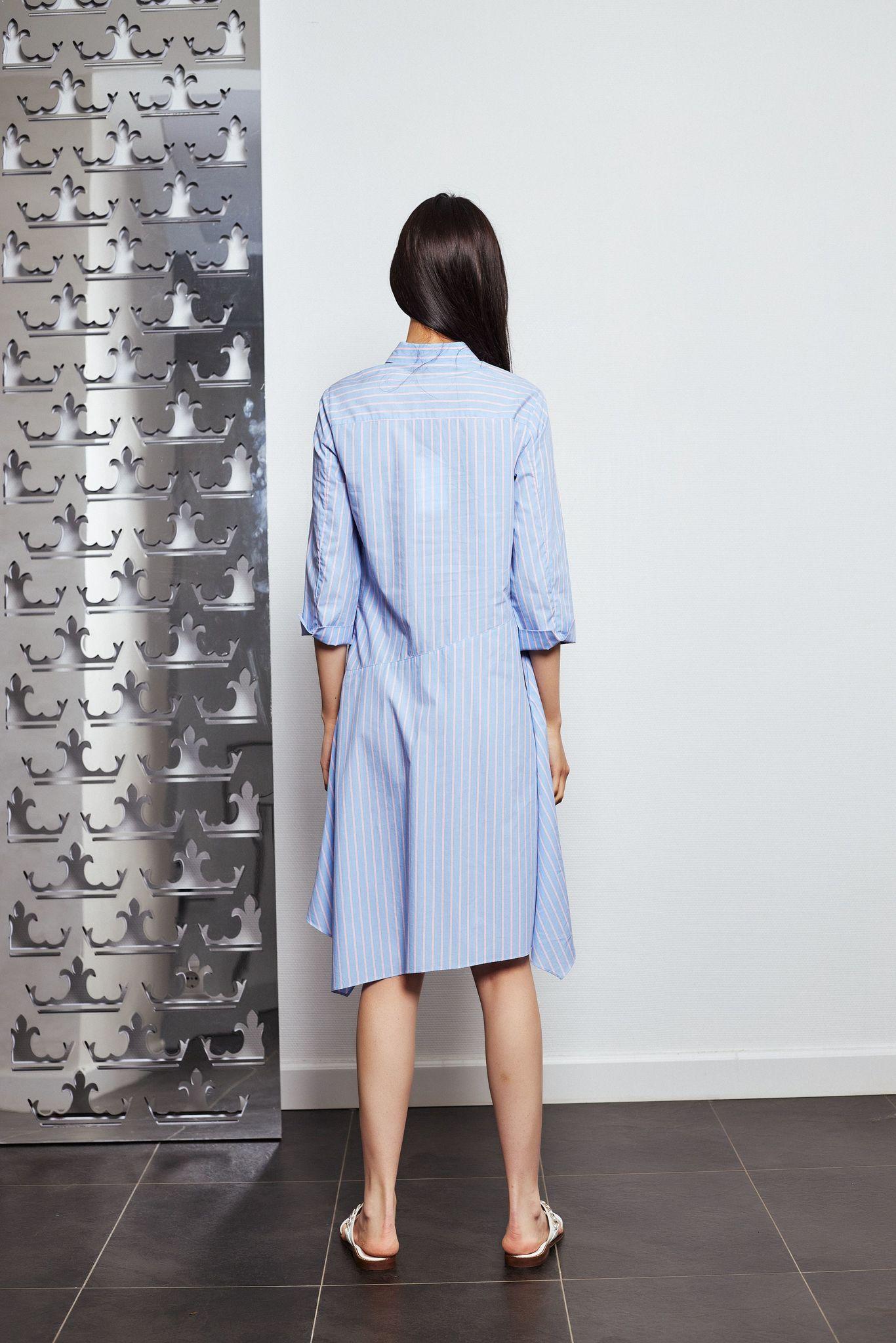 Steffen Schraut Платье с планкой из металлических деталей