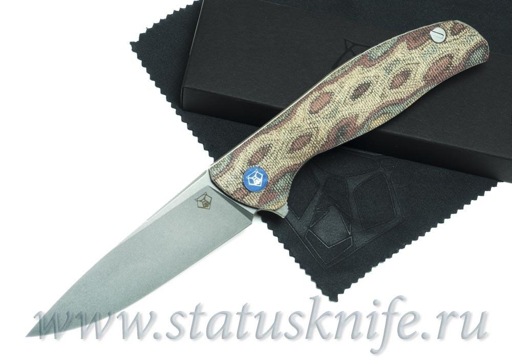 Нож Широгоров Ф3 Vanax 37 Микарта Питон 3D подшипники