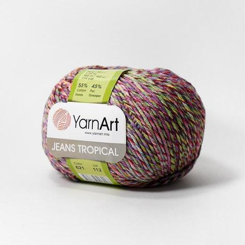 Пряжа YarnArt Jeans Tropical цвет 621