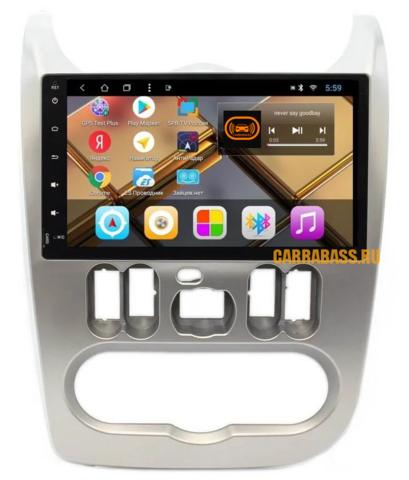 Головное устройство Lada Largus/ Renault Logan/Sandero (2010-2014)Android 9.0 модель CB3095T8