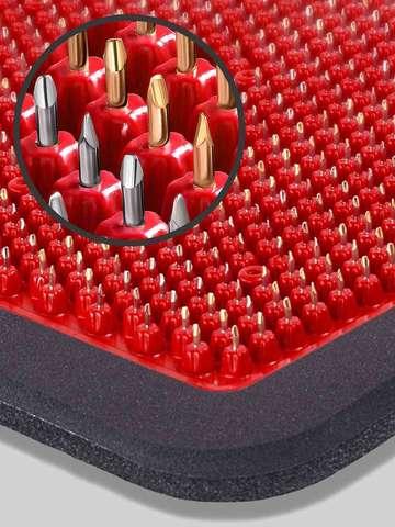 Аппликатор металломагнитный, 15х22, красный