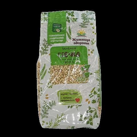 Гречка зеленая для проращивания ЖИТНИЦА ЗДОРОВЬЯ, 400 гр