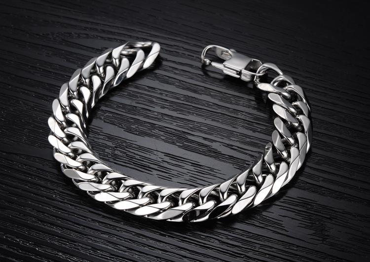 Стильный мужской браслет из нержавеющей ювелирной стали Steelman mn1020