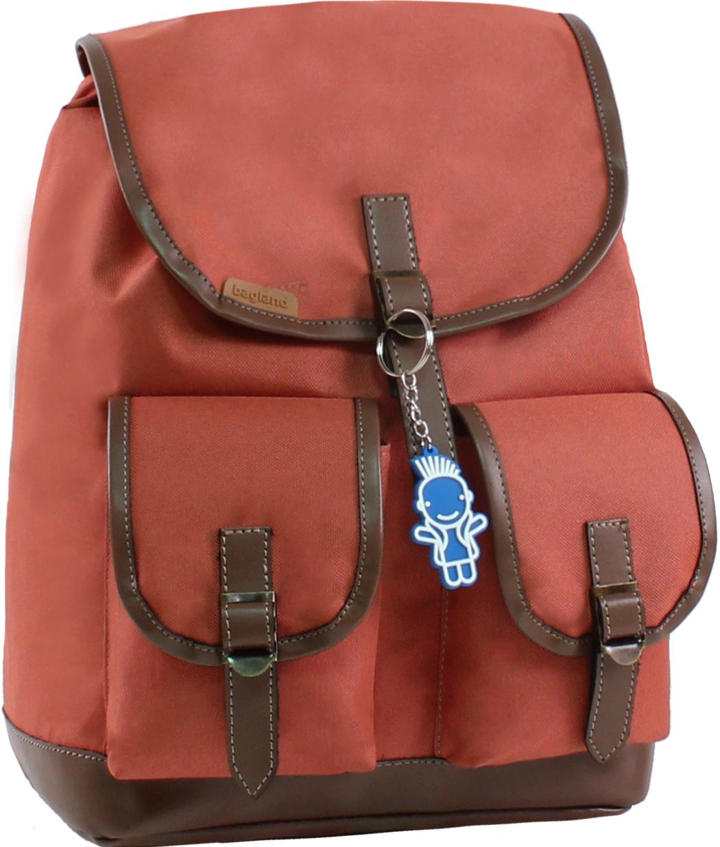 Городские рюкзаки Рюкзак Bagland Amy 16 л. 286 кирпич (0013066) IMG_8004.JPG