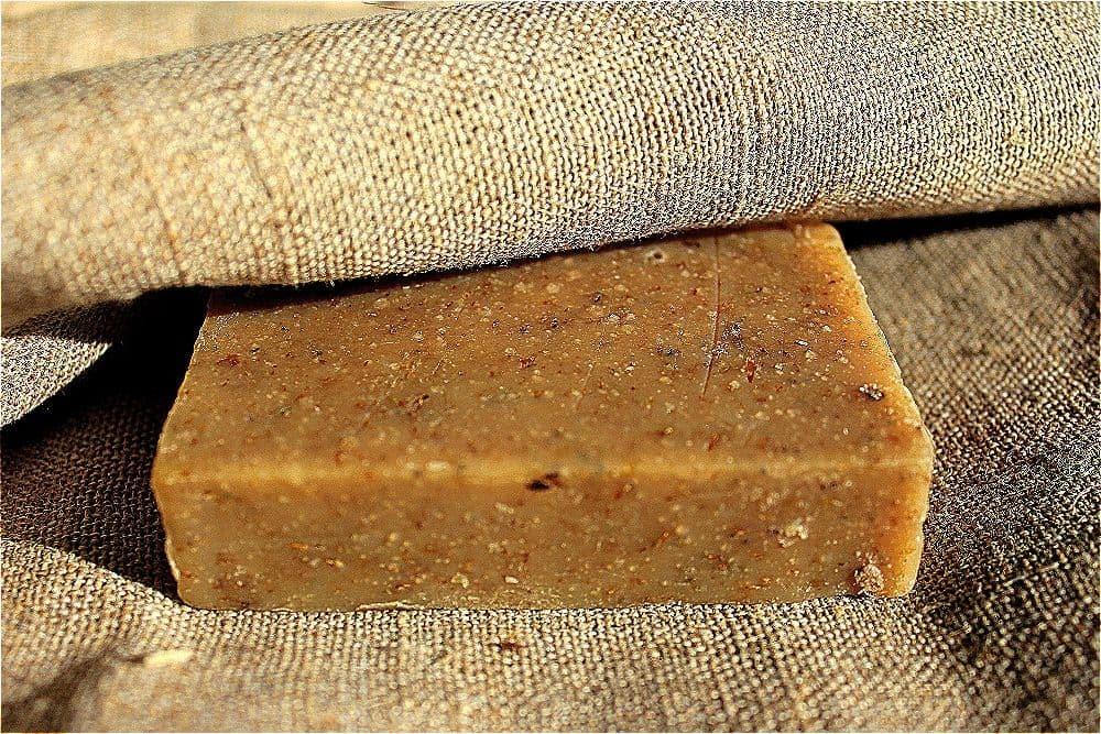 Натуральное мыло Ромашковое Карельское мыло
