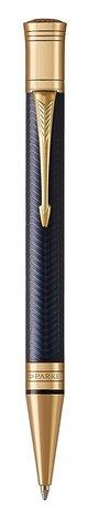 Шариковая ручка Parker  Duofold Prestige Blue Chevron GT123