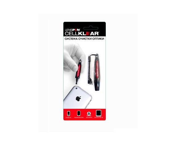 Карандаш для чистки оптики Lenspen Cellklear - фото 2 - упаковка