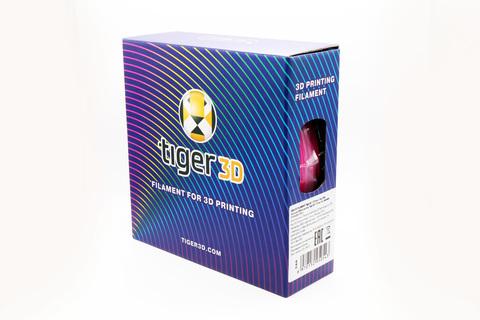 Tiger3D ABS-пластик катушка, 1.75 мм, 1 кг, серебристая