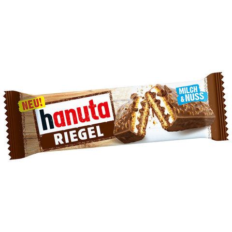 Hanuta Riegel с шоколадом и орехами 35 гр