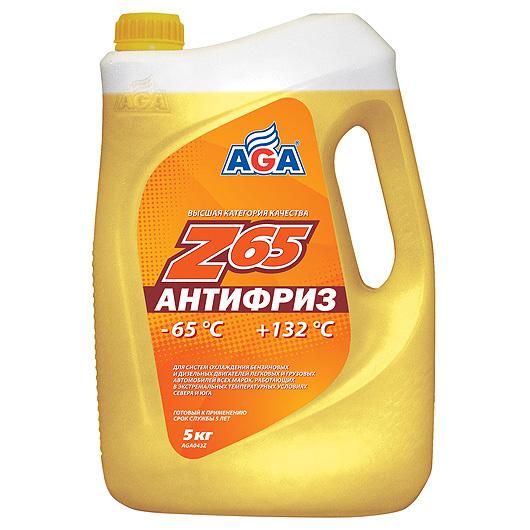 AGA Z-65 - Антифриз готовый (желтый)
