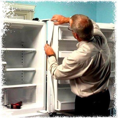 Установка уплотнителей на бытовые холодильники Стинол, Индезит, Аристон