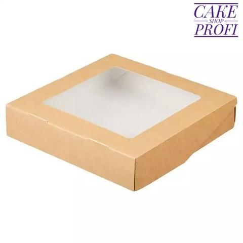 Коробка для сладостей 20×20×4см. (100шт)