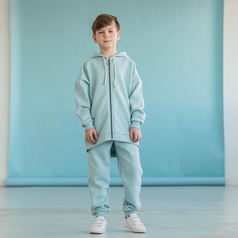Warm hoodie for teens - Aqua