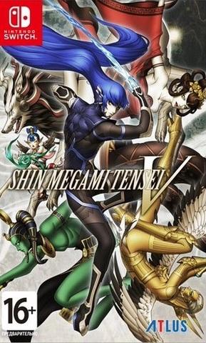 Shin Megami Tensei V (Nintendo Switch, английская версия)
