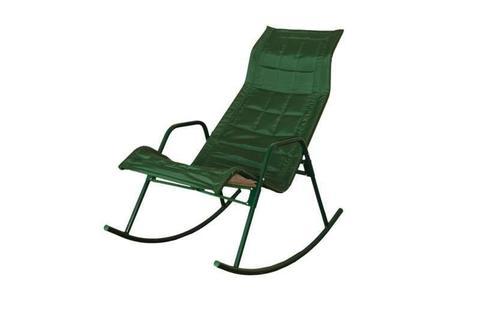 Кресло-качалка Нарочь зеленый
